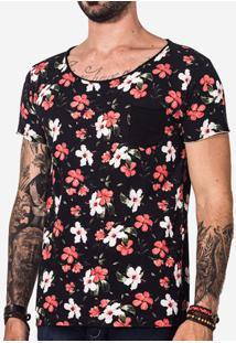 Camiseta Hibiscos 101436