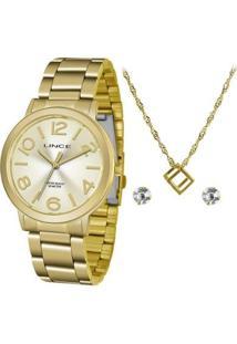 Relógio Lince Urban Lrgh087Lkv44C2Kx Feminino - Feminino-Dourado