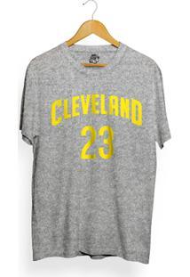 Camiseta Bsc Cleveland 23 - Masculino-Cinza