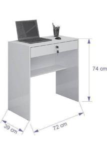 Escrivaninha/Mesa Para Computador Andorinha Jcm Movelaria -Cacau