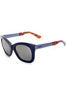 Óculos De Sol Colcci Quadrado 05038K6909 Feminino - Feminino-Azul