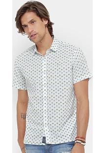 Camisa Colcci Full Print Coqueiros Masculina - Masculino