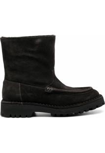 Kenzo Ankle Boot K-Mount - Marrom