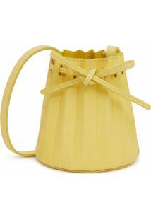 Mansur Gavriel Bolsa Bucket Mini - Amarelo