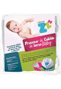 Capa Protetora Para Colchão Em Malha Impermeável - Fibrasca Fb-Z9379 Capa Protetora Infantil Imp Slip 70X130