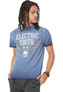 Camiseta John John Electric Azul