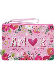 Necessaire Stz Amor Rosa -