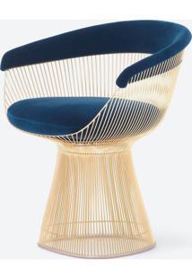 Cadeira Warren Platner - Dourada