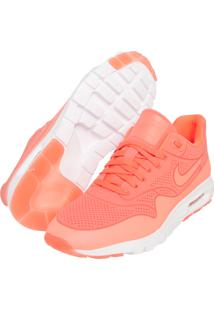 huge discount ed4a9 0e9f1 R$ 244,99. Dafiti Calçado Tênis Laranja Feminino Swear Nike Moire Max Air  ...