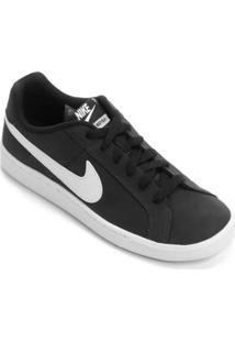 a9b09501c7 ... Tênis Couro Nike Court Royale Feminino - Feminino-Branco+Preto