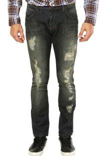 Calça Jeans Triton Azul
