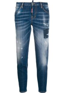 Dsquared2 Cloudy Cool Girl Jeans - Azul