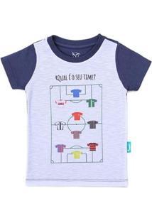 Camiseta Jokenpô Bebê Time - Masculino