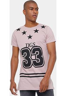 Camiseta Tigs College Masculina - Masculino