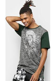 Camiseta Mcd Especial Blessed Masculina - Masculino-Verde