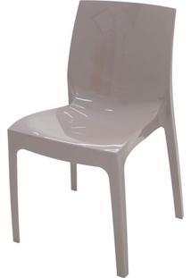 Cadeira Alice Polipropileno Cor Camurca - 18744 Sun House