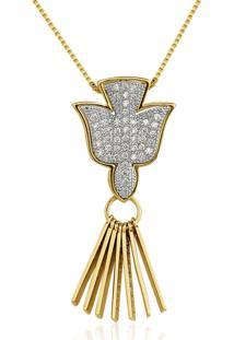 Colar Le Diamond Espirito Dourado - Kanui