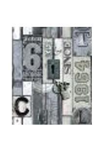 Papel De Parede Adesivo Decoração 53X10Cm Bege -W22003