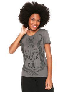 Camiseta Colcci Rock Cinza