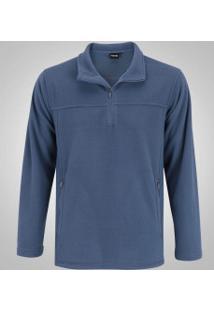 Blusa Fleece Nord Outdoor Basic - Masculina - Azul Escuro