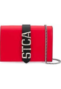 Just Cavalli Logo Shoulder Bag - Vermelho