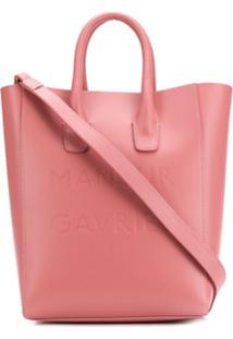 Mansur Gavriel Bolsa Tote Com Alças De Mão - Blsh Pink