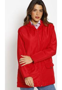 Jaqueta Com Enchimento Capuz- Vermelha- Vip Reservvip Reserva