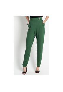 Calça Feminina Molecotton Estampada Endless Verde