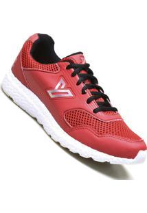 Tenis Raypex Ultra Esportivo Calvest Masculino - Masculino-Vermelho