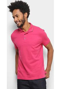Camisa Polo Ellus Básica Masculina - Masculino-Pink