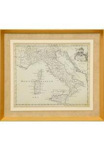 Quadro Decorativo Maps