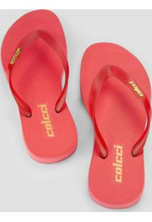 Sandália Candy Colors Vermelha