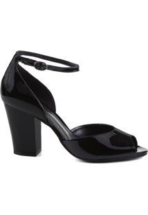 Sandália Concept Verniz Black   Schutz