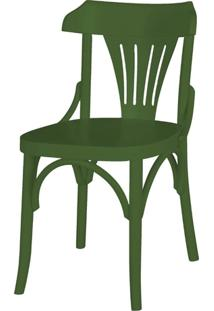 Cadeira Opzione Acabamento Verde Escuro - 27454