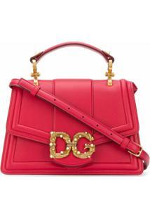 Dolce & Gabbana Bolsa Tiracolo Dg Amore - Vermelho