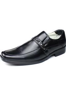 Sapato Social Ranster Comfort Couro Preto