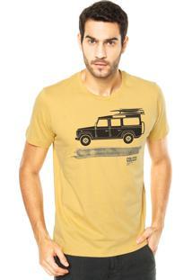Camiseta Colcci Prancha Amarela
