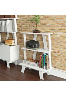 Estante Para Livros Az1000 Branco - Tecno Mobili