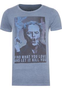 Camiseta Masculina Jack Kill You - Azul