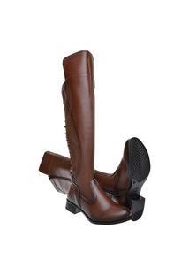 Bota Over Montaria Mr Try Shoes Knee Marrom