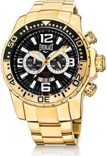 a7c787504d2 ... Relógio Pulso Everlast Cronógrafo Pulseira Aço E652 - Masculino