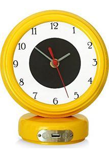 c95574fe636 Relógio De Mesa Madeira Palha
