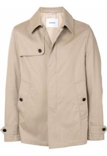 Dondup Trench Coat Curto - Neutro