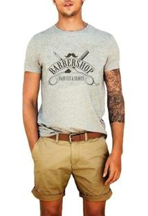Camiseta Barbershop - Masculino