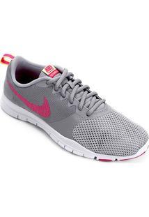Tênis Nike Flex Essential Tr Feminino - Feminino-Cinza+Pink