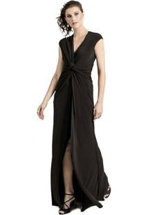 5cf3090f63 Vestido Alphorria Fenda feminino