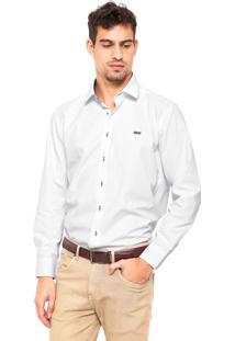 Camisa Mr. Kitsch Geométrica Branca