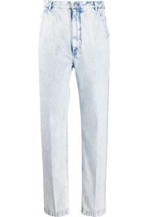 Rachel Comey Calça Jeans Pantalona Cintura Alta - Azul