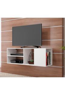 Rack Para Tv Edge Br 379 Branco - Brv Móveis