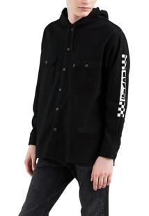 Camisa Levis Hooded Worker - S